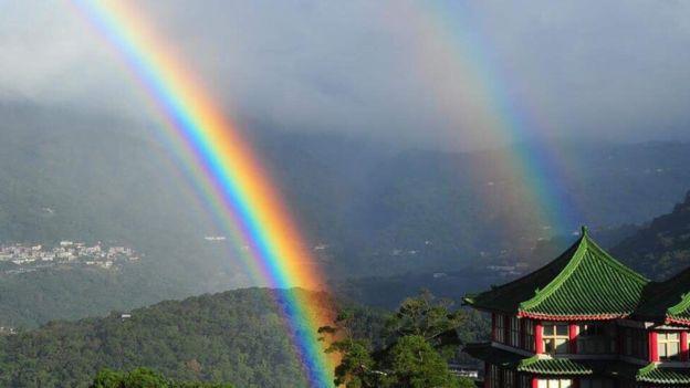 arcoiris más largo del mundo