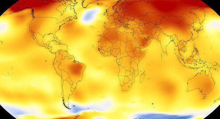 los años más calurosos de la Tierra